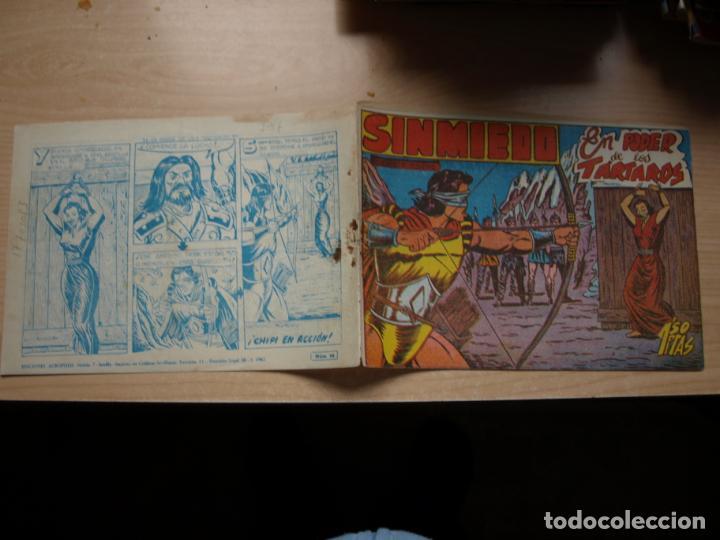 SINMIEDO - NÚMERO 24 - EDICIONES ACROPOLIS (Tebeos y Comics Pendientes de Clasificar)
