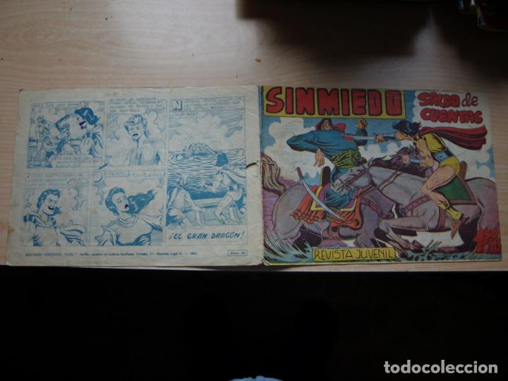 SINMIEDO - NÚMERO 20 - EDICIONES ACROPOLIS (Tebeos y Comics Pendientes de Clasificar)