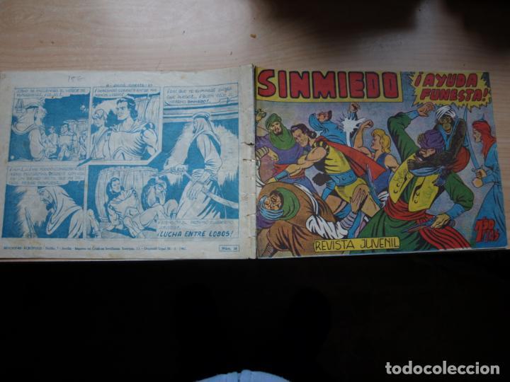 SINMIEDO - NÚMERO 18 - EDICIONES ACROPOLIS (Tebeos y Comics Pendientes de Clasificar)
