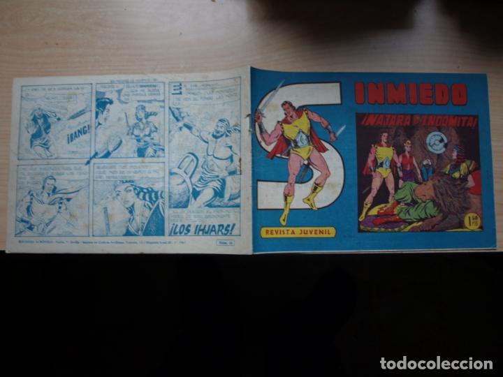 SINMIEDO - NÚMERO 10 - EDICIONES ACROPOLIS (Tebeos y Comics Pendientes de Clasificar)