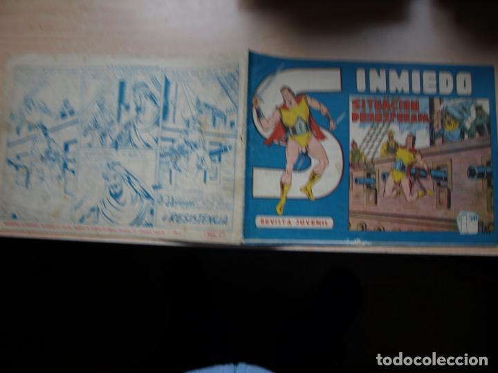 SINMIEDO - NÚMERO 5 - EDICIONES ACROPOLIS (Tebeos y Comics Pendientes de Clasificar)