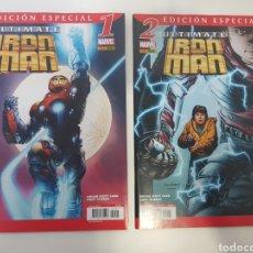 Cómics: ULTIMATE IRON MAN . 1 Y 2 . EDICION ESPECIAL. COMPLETA. Lote 144724504