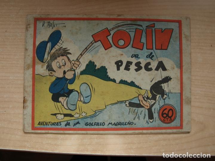 TOLIN - VA DE PESCA - ORIGINAL - PRECIO 60 CENTIMOS - EDITORIASL GUERRI (Tebeos y Comics Pendientes de Clasificar)