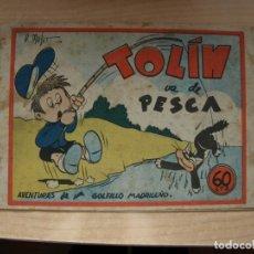 Cómics: TOLIN - VA DE PESCA - ORIGINAL - PRECIO 60 CENTIMOS - EDITORIASL GUERRI. Lote 144791322