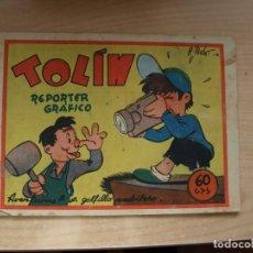 Cómics: TOLIN - REPORTER GRAFICO - ORIGINAL - PRECIO 60 CENTIMOS - EDITORIASL GUERRI. Lote 144791382