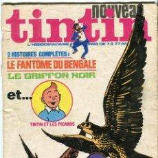 Cómics: TINTIN NOUVEAU Nº 27 (167) AÑO 1976 HERGE-HUGO PRATT-JEAN GRATON-GREG-DERIB-TIBET- EN FRANCES.52 PAG. Lote 144937486
