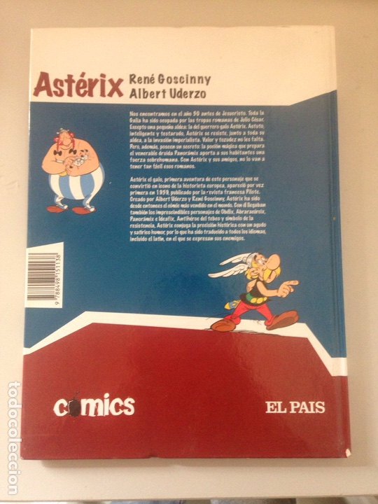 Cómics: asterix el galo. Tapa dura año 2005 ed. el país. - Foto 2 - 145020686