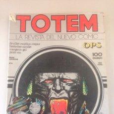 Cómics: TOTEM Nº 6 - EDITORIAL NUEVA FRONTERA - 100 PÁGINAS. Lote 145020832