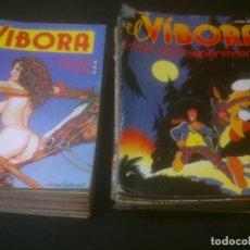Cómics: EL VIBORA 41 NUMEROS. Lote 145021318