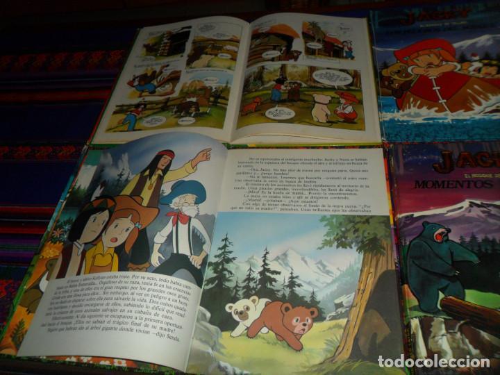 Cómics: JACKY EL BOSQUE DE TALLAC COMPLETA. LAIDA 1979. GRISLE MADRE FUERTE, PRIMAVERA, MOMENTOS DIFÍCILES. - Foto 3 - 145077598