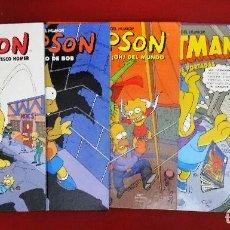 Cómics: LOTE DE 5 SIMPSON TAPA DURA GRANDES DEL HUMOR EL PERIODICO 1997 DE KIOSKO. Lote 145196134