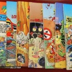 Cómics: LOTE DE 9 MORTADELOS TAPA DURA GRANDES DEL HUMOR EL PERIODICO 1996 DE KIOSKO. Lote 145197346