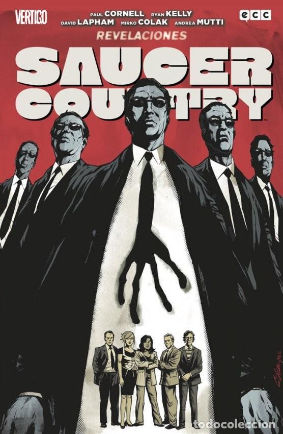 Cómics: Saucer Country 1 Carrera y 2 Revelaciones, completa - Cornell·Kelly·Lapham - Foto 2 - 145367642
