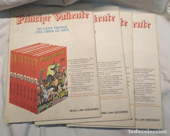 Cómics: Príncipe Valiente nº 61, 62, 63 y 64 de Harold Foster Héroes del Comic Buru Lan año 1972 - Foto 2 - 145463502