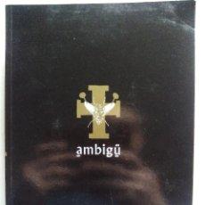 Cómics: AMBIGÚ. SANTIAGO SEQUEIROS. CAMALEÓN EDICIONES. ESPAÑA 1994. EL DE LA MALA PENA.. Lote 145610850