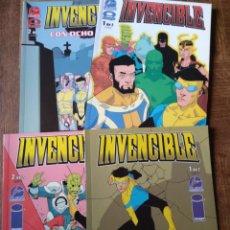 Cómics: INVENCIBLE 4 PRIMEROS TOMOS DE ALETA EDICIONES - IMAGE COMICS -. Lote 145618802