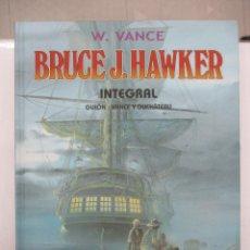 Cómics: BRUCE J.HAWKER - TOMO INTEGRAL - W.VANCE - TAPA DURA - PONENT MON. Lote 155671794