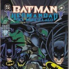 Cómics: BATMAN HERMANDAD DEL MURCIELAGO / BATMAN GALERIA NOCTURNA - GRUPO EDITORIAL VID. Lote 145750846
