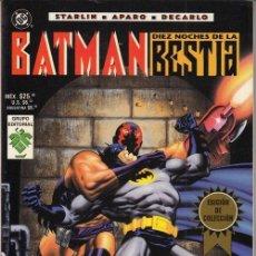 Cómics: BATMAN - DIEZ NOCHES DE LA BESTIA - GRUPO EDITORIAL VID. Lote 145751958