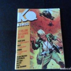 Cómics: K O COMICS Nº 2 FRANK CAPPA - BOGEY - WILL EISNER M VÁZQUEZ MONTALBÁN - MANFRED SOMMER . Lote 145785286