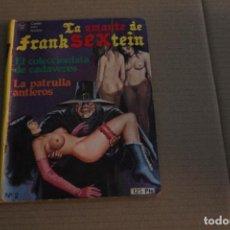Cómics: LA AMANTE DE FRANKSEXTEIN Nº 2, COMICS PARA ADULTOS, EDICIONES SAX. Lote 145813706
