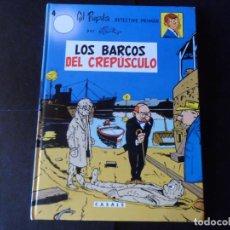 Cómics: GIL PUPILA Nº 4 - LOS BARCOS DEL CREPÚSCULO - MILLIEUX - EDITORIAL CASALS TAPA DURA. Lote 145853606
