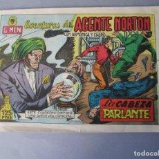 Cómics: AGENTE NORTON (1953, JARA) 13 · 1953 · LA CABEZA PARLANTE. Lote 145909774