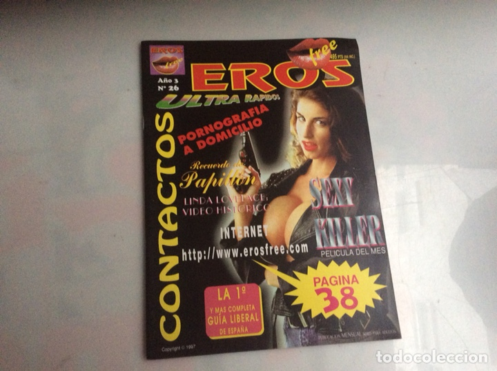 EROS FREE Nº 26 - REVISTA EROTICA DE LOS 90