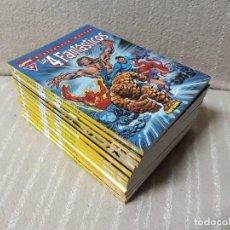 Cómics: LOS 4 FANTÁSTICOS - BIBLIOTECA MARVEL - LOTE DE 12 TOMOS - FORUM. Lote 146078682