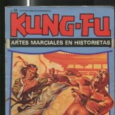 Cómics: KUNG FU NUMERO 58: EL CUERVO-SHI KAI. Lote 55666700