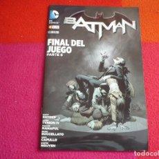 Cómics: BATMAN Nº 41 FINAL DEL JUEGO ( SCOTT SNYDER GREG CAPULLO ) ¡MUY BUEN ESTADO! DC ECC. Lote 146144194
