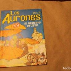 Cómics: LOS AURONES Nº 2, COMIC AÑO 1987. Lote 146247390
