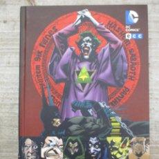 Cómics: BATMAN - GENESIS OSCURA - GRANDES AUTORES - ECC - DC COMICS. Lote 146265498