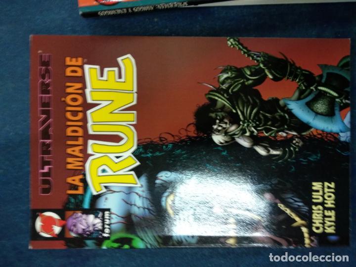 ULTRAVERSE-LA MALDICION DE RUNE (Tebeos y Comics - Comics otras Editoriales Actuales)