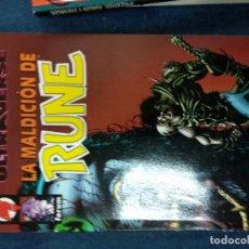 Cómics: ULTRAVERSE-LA MALDICION DE RUNE. Lote 146269646
