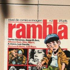 Cómics: RAMBLA 1. Lote 146363978