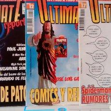 Cómics: ULTIMATE REPORTS NÚMEROS 12, 13 Y 17.. Lote 146433642
