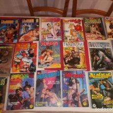 Cómics: LOTE 28 COMICS CON 3 EXTRAS DE 4 COMICS EN TOMO - COMICS PARA ADULTOS - AÑOS 70 Y 80 - CON NUMEROS 1. Lote 146574130