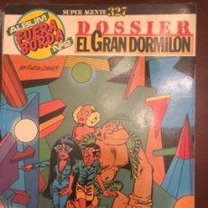 Cómics: SUPER AGENTE 327 EL GRAN DORMILON. Lote 146530890