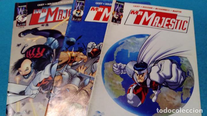 MR MAJESTIC NUMEROS 1.2 Y 3 WORLD COMICS (Tebeos y Comics Pendientes de Clasificar)