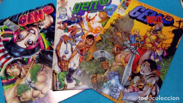 Cómics: GEN 13 - LOTE DE 3 NUMEROS WORLD COMICS - Foto 1 - 146596470