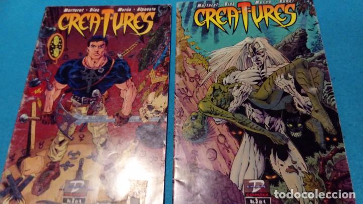 CREATURES 2 Y 4 - MARTURET / DÍAZ / ALPUENTE - DUDE COMICS - (Tebeos y Comics - Comics otras Editoriales Actuales)