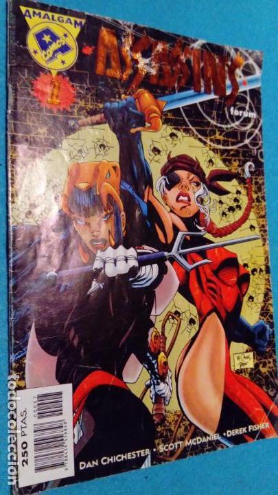 AMALGAM: ASSASSINS; CROSSOVER ENTRE EDITORIALES (Tebeos y Comics - Comics otras Editoriales Actuales)