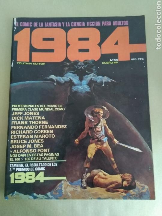 COMIC 1984 N°36 (Tebeos y Comics Pendientes de Clasificar)