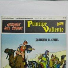 Cómics: HEROES DEL COMIC - PRINCIPE VALIENTE Nº 64, EDICIONES BURU LAN. Lote 146751806