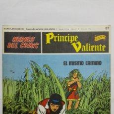 Cómics: HEROES DEL COMIC - PRINCIPE VALIENTE Nº 67, EDICIONES BURU LAN. Lote 146751906