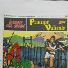 Cómics: HEROES DEL COMIC - PRINCIPE VALIENTE Nº 68, EDICIONES BURU LAN. Lote 146751930