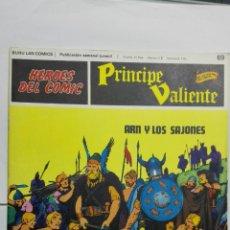 Cómics: HEROES DEL COMIC - PRINCIPE VALIENTE Nº 69, EDICIONES BURU LAN. Lote 146751974