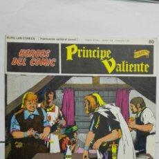 Cómics: HEROES DEL COMIC - PRINCIPE VALIENTE Nº 80, EDICIONES BURU LAN. Lote 146752334