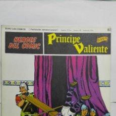 Cómics: HEROES DEL COMIC - PRINCIPE VALIENTE Nº 83, EDICIONES BURU LAN. Lote 146752414